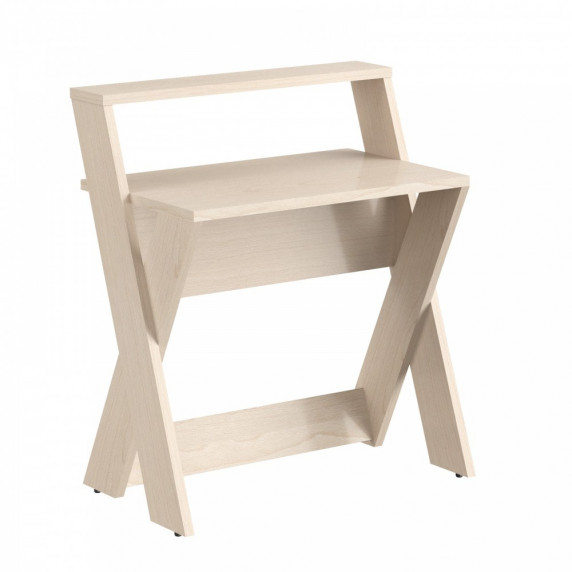 TAIPIT Comp Modern íróasztal 85x60x98 cm - Tiara Beech