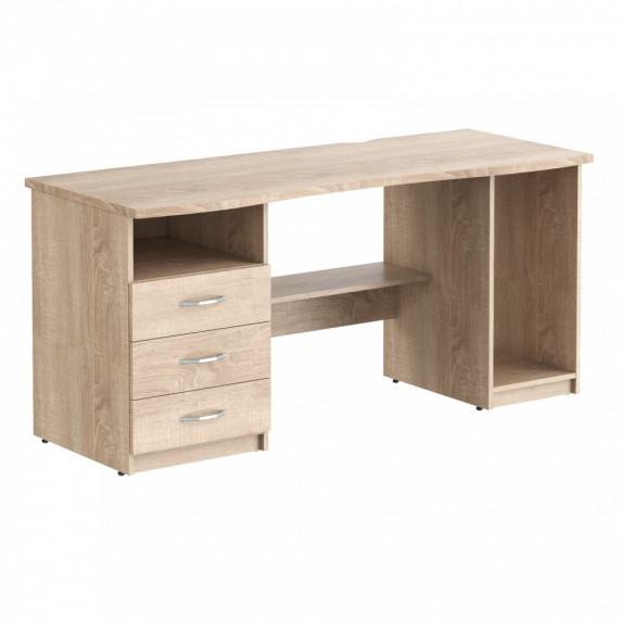 TAIPIT Comp íróasztal 136x63x75 cm - Sonoma Oak Light