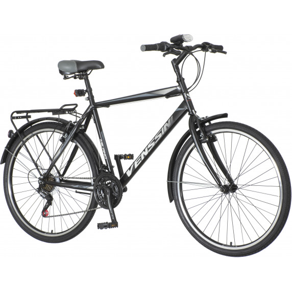 "Férfi kerékpár Venssini Milano  26""/20"" MIL262 - fekete"