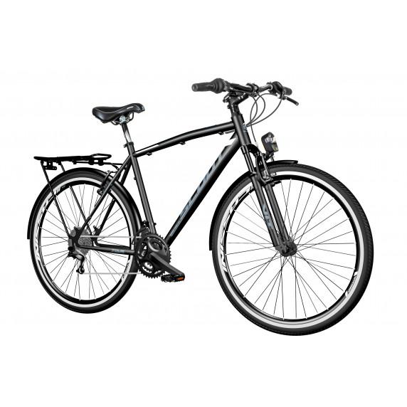 "Férfi kerékpár Visitor Tour  28""/22"" TOUR281AMS - fekete-szürke"