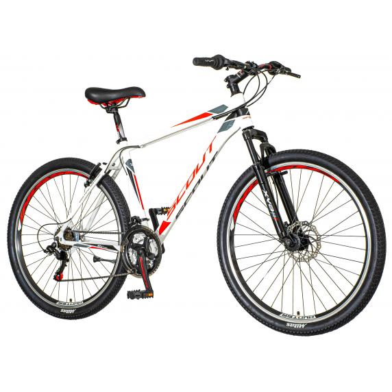 """Férfi kerékpár Visitor Hunter  27""""/19"""" HUN271AM -szürke piros"""