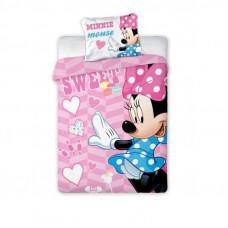 Ágyneműhuzat Minnie egér  Sweet 135x100 cm Előnézet