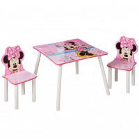 Gyerekasztal székekkel - Minnie egeres II