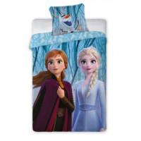 Ágyneműhuzat Jégvarázs Frozen - Anna és Elza  140 x 200 cm