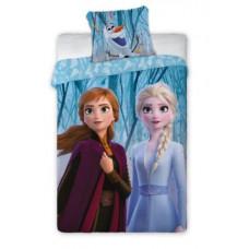 Ágyneműhuzat Jégvarázs Frozen - Anna és Elza  140 x 200 cm Előnézet