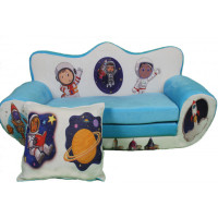 Maxi kinyitható gyerek kanapé  Űrhajós