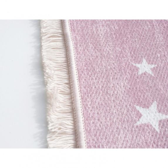 Gyerek szőnyeg csillagos LOVE YOU STARS 140x190 cm - rózsaszín