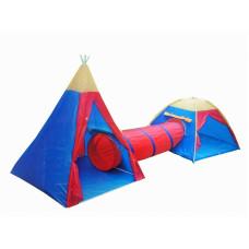 ACRA gyerek sátor 2+ alagúttal Előnézet