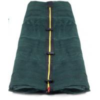 Belső védőháló 400 cm átmérőjű trambulinhoz 8 rudas AGA - sötét zöld