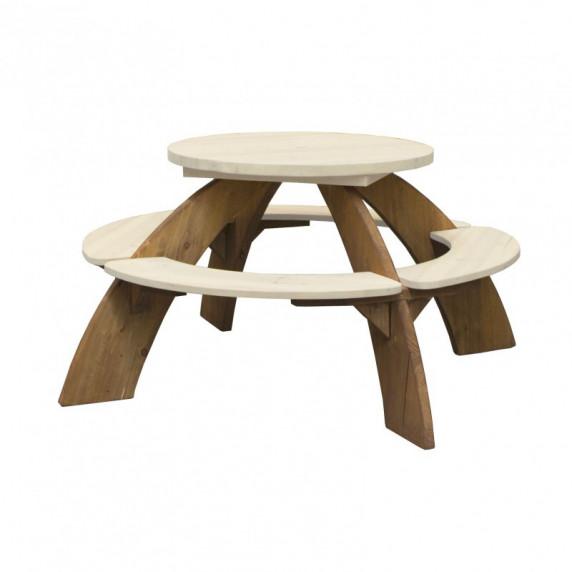 AXI ORION Piknik asztal napernyővel