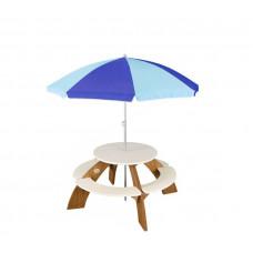 AXI ORION Piknik asztal napernyővel Előnézet