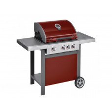 Jamie Oliver Gáz grillsütő Home 3S Chili Red Előnézet