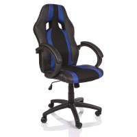 Tresko Racing Irodai szék RS020 - Fekete/kék