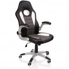 Racing Irodai szék RS065 - Fekete/szürke Előnézet