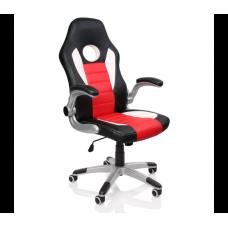 Racing Irodai szék RS067 - Fekete/piros Előnézet