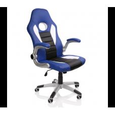 Racing Irodai szék RS068 - Fekete/kék Előnézet