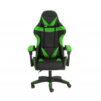 Gamer szék Aga MR2080GREEN - Fekete/zöld