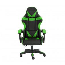 Gamer szék Aga MR2080GREEN - Fekete/zöld Előnézet