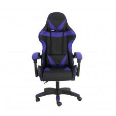 Gamer szék Aga MR2080BLUE - Fekete/kék Előnézet