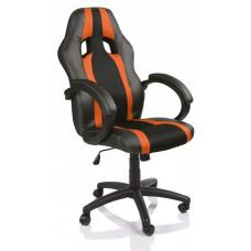 Irodai szék Tresko Racing RS-019 - Fekete/narancssárga