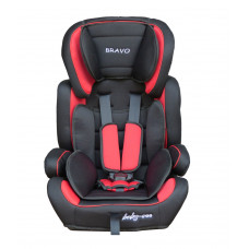 Baby Coo Bravo autósülés 2018 - Piros Előnézet