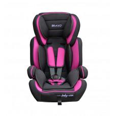Baby Coo Bravo autósülés 2018 - Rózsaszín Előnézet