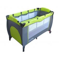 Baby Coo Malibu Plus utazóágy - Green Előnézet