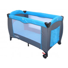 Baby Coo Malibu Comfort utazóágy - Blue Előnézet