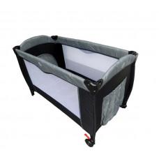 Baby Coo Malibu Comfort utazóágy - Grey Előnézet