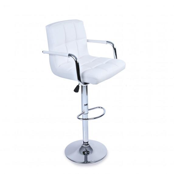 Aga Bárszék karfával BH016 - Fehér