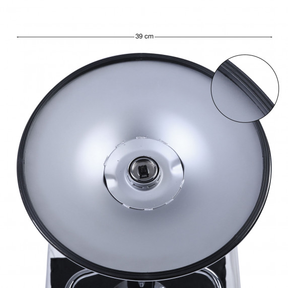 Bárszék karfával 2 darab AGA MR2010BLACK - Fekete