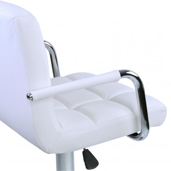 Bárszék karfával 2 darab AGA MR2010WHITE - Fehér