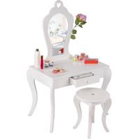 Aga4Kids Fésülködő asztal gyerekeknek MRDTC02W - fehér