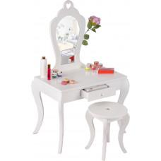 Aga4Kids Fésülködő asztal gyerekeknek MRDTC02W - fehér Előnézet