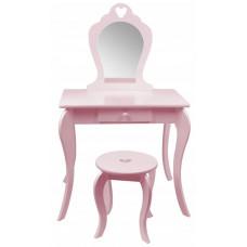 Aga4Kids Fésülködő asztal gyerekeknek MRDTC02P - rózsaszín Előnézet