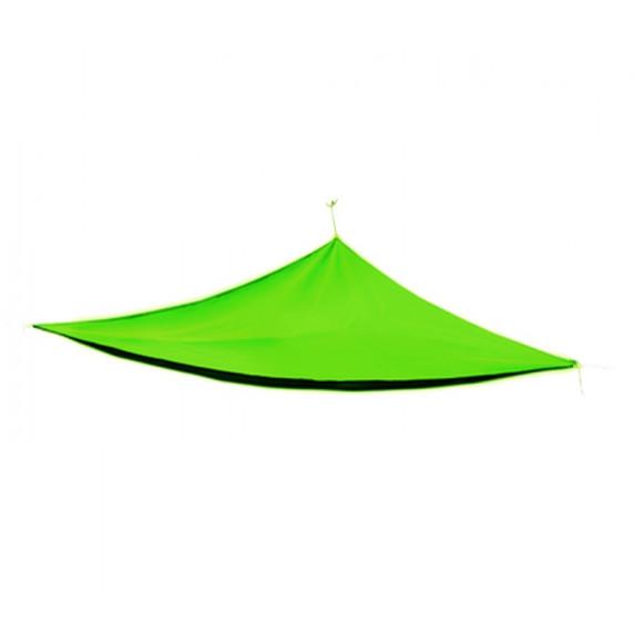 Háromszög alakú árnyékoló, napvitorla Linder Exclusiv  MC2017 3 x 3 x 3 m - Világos Zöld