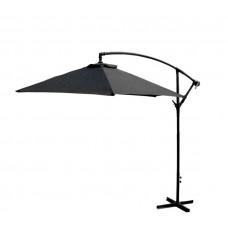 AGA EXCLUSIV Bony 300 cm függő napernyő - Sötét szürke Előnézet