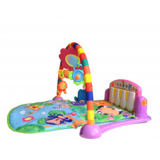 Aga4Kids játék szőnyeg zongorával PA418 Pink Előnézet