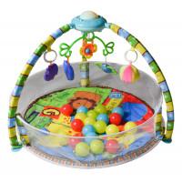 Játszószőnyeg Aga4Kids MRBM02 - védőhálóval és labdákkal