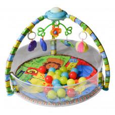 Játszószőnyeg Aga4Kids MRBM02 - védőhálóval és labdákkal Előnézet
