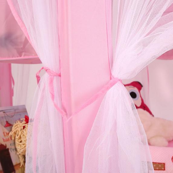 Játszósátor pavilon Aga4Kids PRINCESS CASTLE MR0009PINK - Rózsaszín