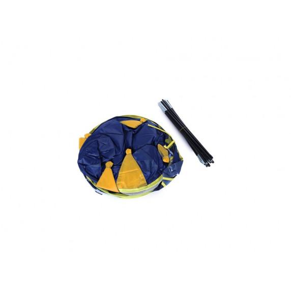Aga4Kids gyereksátor CASTLE Beautiful Cubby house KL999 ST-0108 - Sötét kék