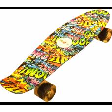 Aga4Kids Skateboard Graffiti Előnézet