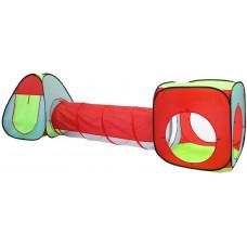 Játszóház alagúttal és gyereksátorral Aga4Kis MR0031 -  színes Előnézet