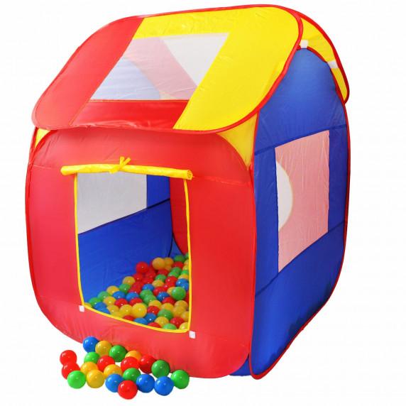 Kiduku Gyerek játszóház labdákkal KZ-007