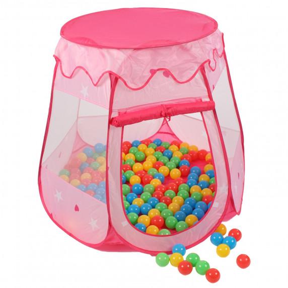 Gyerek játék sátor Aga4Kids ST-005-PINK - Rózsaszín