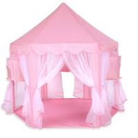 Aga4Kids Princess Játszósátor pavilon CLASSIC STYLE ST-030A-PINK - Rózsaszín
