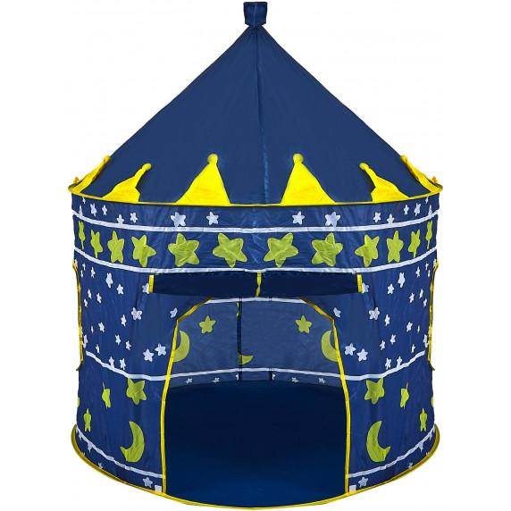 Gyereksátor Aga4Kids CASTLE Beautiful Cubby house MR0108 - Sötét kék