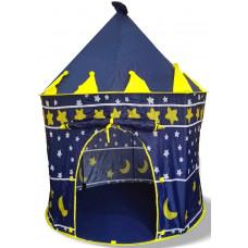 Aga4Kids gyereksátor CASTLE Beautiful Cubby house KL999 ST-0108 - Sötét kék Előnézet