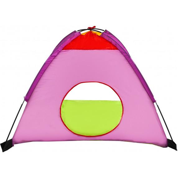 Gyerek sátor alagúttal Aga4Kids ST-029 - Zöld